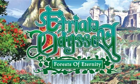 A Odyssey Of Eternity forests of eternity etrian odyssey iii s lovely artbook destructoid