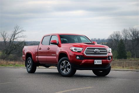 toyota canada review 2016 toyota tacoma canadian auto review