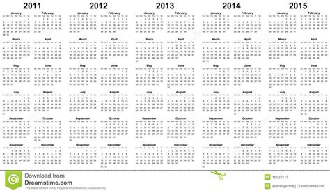 10 11 multi year calendar titleletter