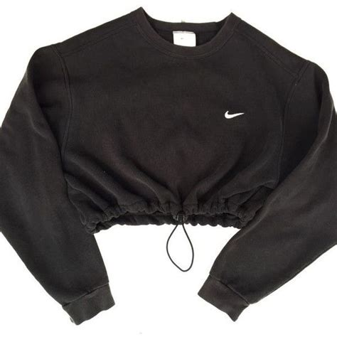 Crop Hoodie Jumper Jaket Nevy nike shirt crop shirt and sweatshirts on