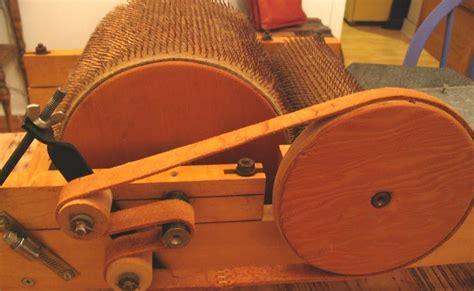 drum carder pattern offthehooks fiber studio short history of a made well