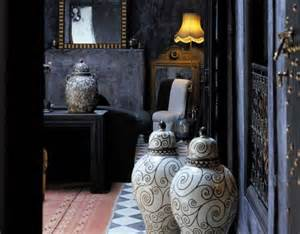 moroccan home decor and interior design black on black moroccan design panda s house