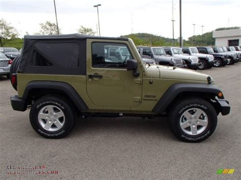 commando green jeep 2013 jeep wrangler sport s 4x4 in commando green photo 5