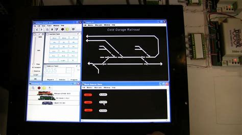 Youtube Jmri Layout | model railroad layout control with jmri and touchscreen