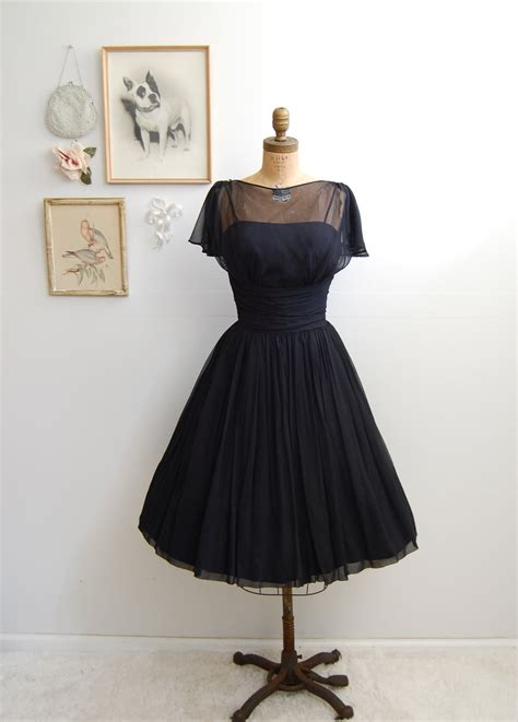 1950 s vintage cocktail dresses vintage 1950s black cocktail dress 50s skirt dress