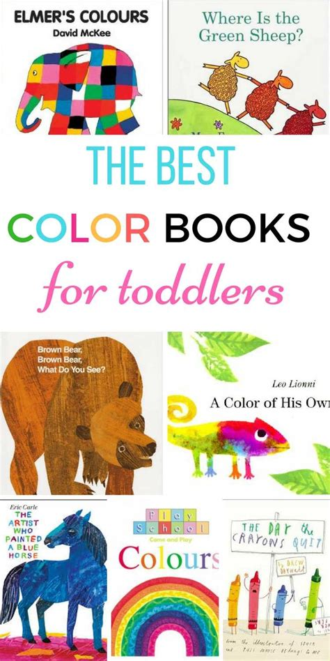 color of books color books for toddlers my bored toddler