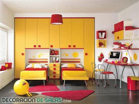ideas de habitaciones dobles para compartir