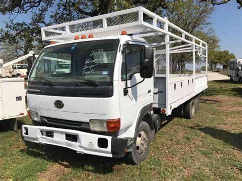 nissan utility nissan ud 1200 2007 utility service trucks