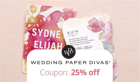 Wedding Paper Divas Reviews by Wedding Paper Divas Coupon Code Get 25 Your Order