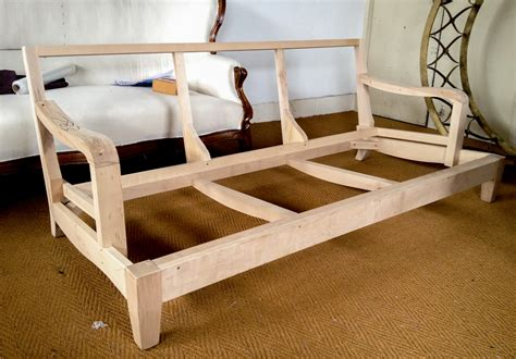 wood couch frame sofa frame diy woodworking projects