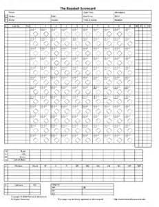 Baseball Box Score Template by Baseball Box Score Template My Favorite Baseball