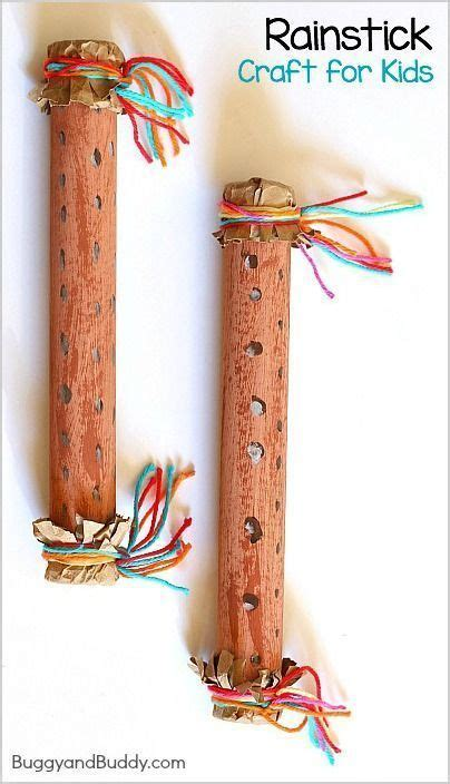 instrument crafts for how to make a rainstick instrument crafts and