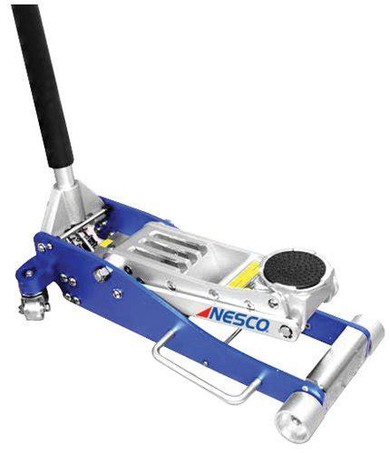 nesco tools 2203 aluminum low profile floor 3 ton