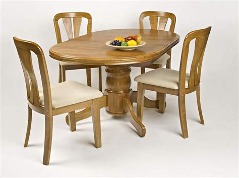 Wooden Dining Table Chairs Wood Dining Table 4 Chairs