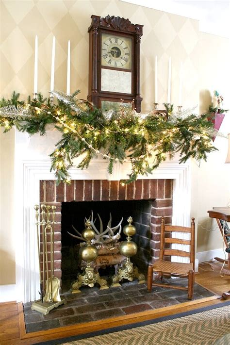elegant mantel decorating ideas christmas lights aren t just for trees holiday decorating