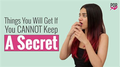 10 Things Keep Secret by Things You Will Get If You Cannot Keep A Secret Popxo