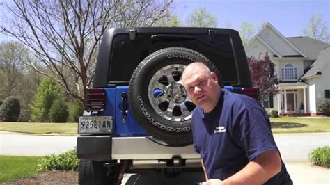 Jeep Backup Jeep Wrangler How To Install Rear Part 1 Jk Jku