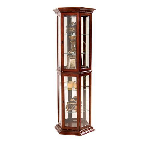 Curio Cabinets El Dorado Cherry Curio El Dorado Furniture