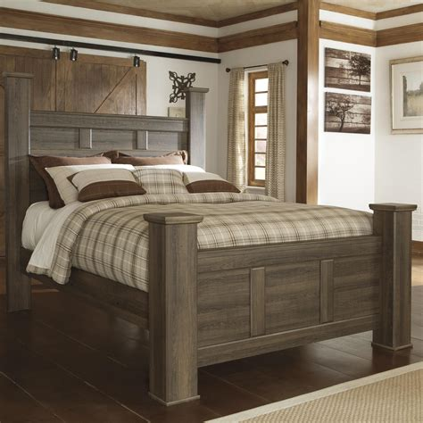 design poster beds signature design by ashley juararo transitional queen