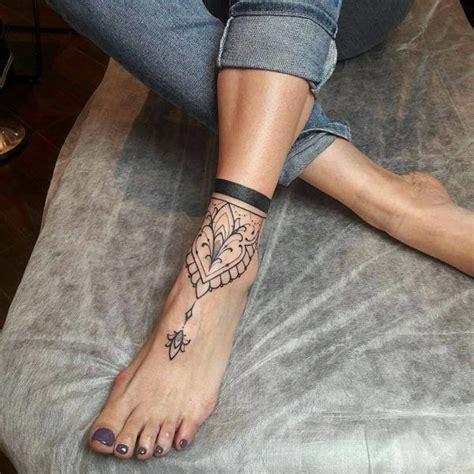 mandala tattoo on ankle mandala foot tattoo on tattoochief com foot tattoos