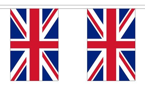 printable england flag bunting union jack great britain bunting 18 metres 30 flags