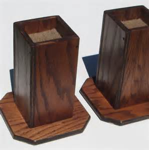 items similar to furniture risers 6 inch all wood