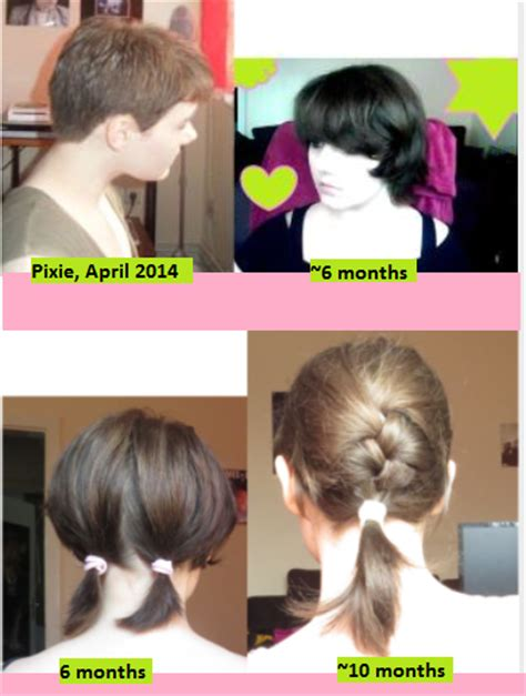 month by month pixie grow out growing out a pixie cut since 10 months never had a