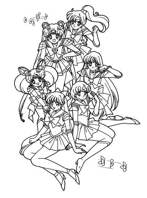 sailor moon color coloring page sailormoon coloring pages 81