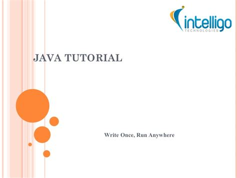 tutorial powerpoint online java tutorial ppt