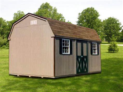 dutchman storage shed   portable buildings