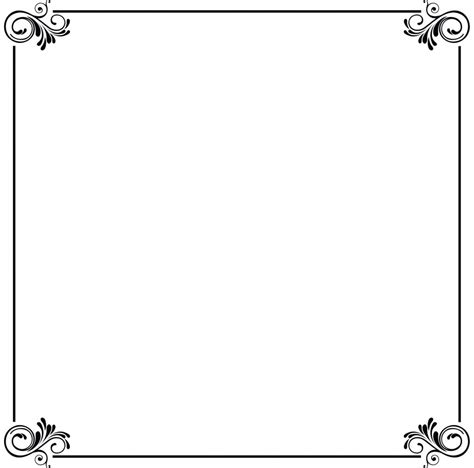 Wedding Border Frame Design by Muslim Wedding Card Border Design Www Pixshark