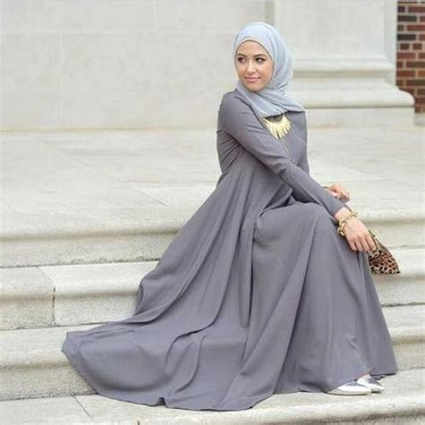 Maxi Dressdress Hijabpakaian Wanitafashion Wanitabaju Muslim winter styles by leena asaad just trendy