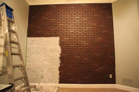 Brick Kitchen Backsplash by Wall Decor Awesome Fake Brick Wall Decoration Fake Brick