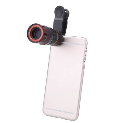 Iphone Zoom by Lens Back 8x Zoom Telephoto Telescope For Cell Phone Iphone Samsung Ebay