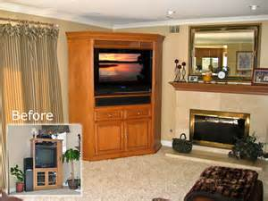 corner tv cabinet c 110 armoire for flat panel tv