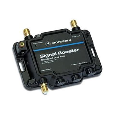 motorola signal booster 484095 001 00 bi directional rf lifier 48409500100 from solid signal