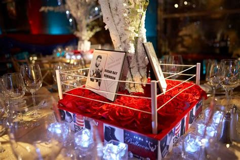 boxing theme decorations boxing themed boxing theme event wedding ideas