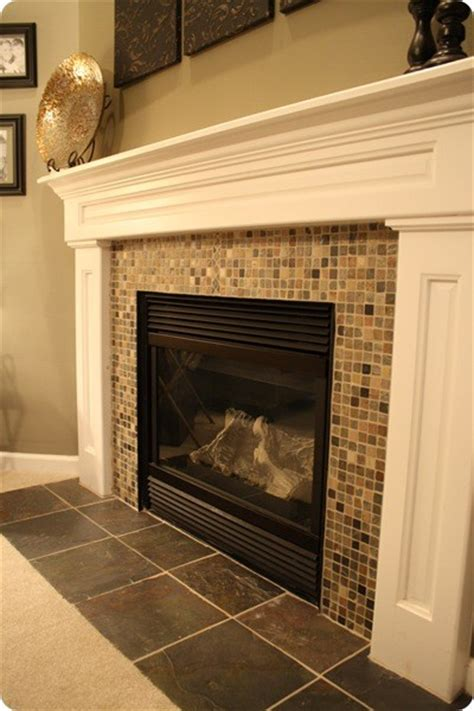 Pictures Of Fireplaces With Tile by Planning A Fireplace Makeover The Hyper House