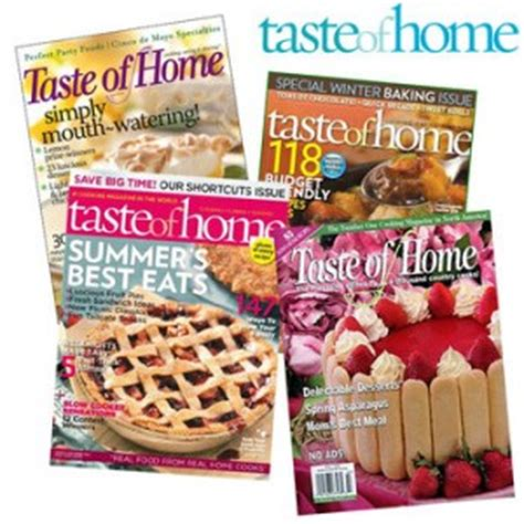 taste of home magazine subscription only 3 99 per year