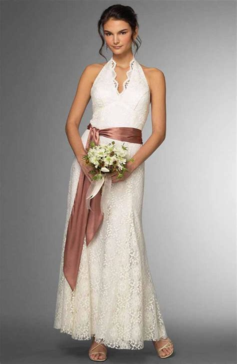 Dresses For Backyard Casual Wedding by Ken S Outdoor Casual Wedding Dresses