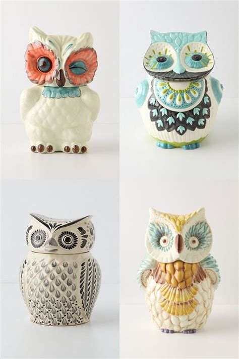 owl canisters for the kitchen 25 best ideas about owl cookie jars on owl kitchen owl kitchen decor and cookie jars