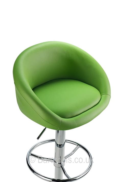 When Stools Are Green by Pavia Bar Stool Green