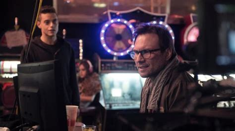 film hacker mr robot on the set of mr robot with christian slater ny daily