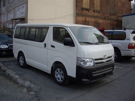 Toyota Hiace For Sale 2011 Toyota Hiace For Sale 2 7 Gasoline Fr Or Rr