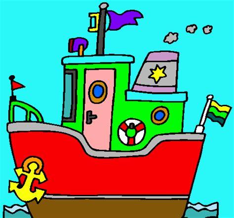 barco con ancla dibujo dibujos anclas barco imagui