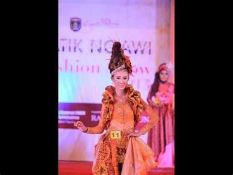 desain baju batik fashion show fashion show busana batik batik trusmi