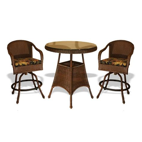 Wicker Bar Table Tortuga Outdoor 36 Quot Wicker Bar Table Wickercentral