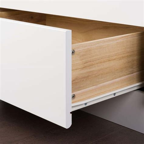 full size bed with drawers white prepac full size platform bed with 6 drawers white wbd
