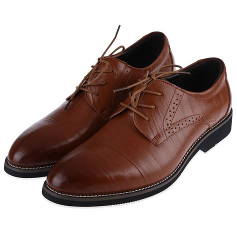 Comfort Dress Shoes For by Comfort Mens Dress Shoes Formal Lace Up Oxfords Classic