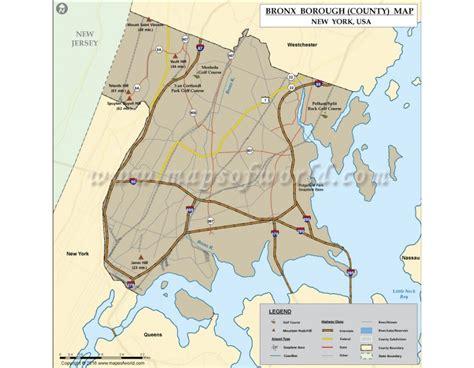 Bronx County Search Buy Bronx County Map New York
